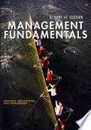"""Management Fundamentals: Concepts, Applications, Skill Development"" by Robert Lussier"