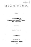 English Stories. Edited by T. G. Repp ... Second edition