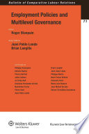 Employment Policies And Multilevel Governance