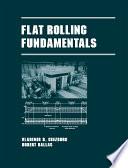 Flat Rolling Fundamentals
