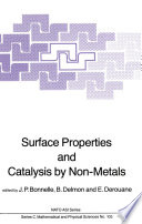Surface Properties and Catalysis by Non Metals Book