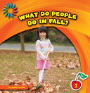 What Do People Do in Fall? [Pdf/ePub] eBook