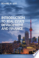 Introduction to Real Estate Development and Finance Book PDF
