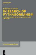 In Search of Pythagoreanism Pdf/ePub eBook