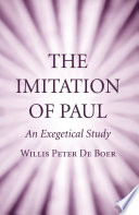 The Imitation of Paul