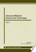 Advanced Material Science and Technology