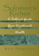 Solomon's Riches