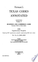Business and Commerce Code