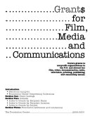 Grant  for Film  Media   Communications