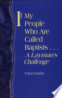 If My People Who Are Called Baptists  Book PDF