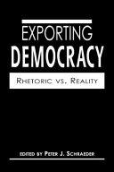 Exporting Democracy