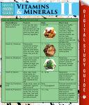 Vitamins   Minerals Il  Speedy Study Guides