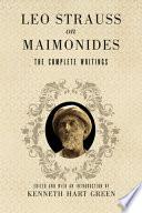 Moses Maimonides The Man And His Works [Pdf/ePub] eBook