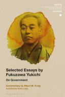 Selected Essays by Fukuzawa Yukichi