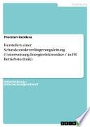 Herstellen einer Schutzkontaktverlängerungsleitung (Unterweisung Energieelektroniker / -in FR Betriebstechnik)
