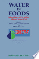 Water In Foods Book PDF