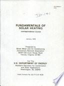 Fundamentals of solar heating