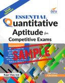 Free Sample Essential Quantitative Aptitude for Competitive Exams   2nd Edition