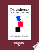 Zen Meditation in Plain English