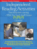 Independent Reading Activities That Keep Kids Learning ... While You ...
