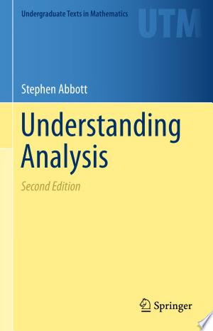 Download Understanding Analysis Free Books - Dlebooks.net