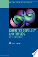 Geometry  Topology and Physics