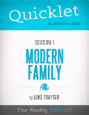 Quicklet on Modern Family Season 1 (CliffsNotes-like Book Summary)