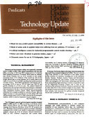 Predicasts Technology Update Book