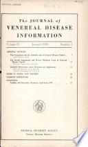 Journal of Venereal Disease Information