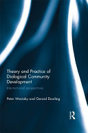 Pdf Theory and Practice of Dialogical Community Development Telecharger