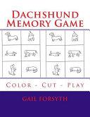 Dachshund Memory Game