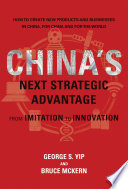 China s Next Strategic Advantage