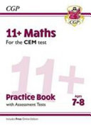 New 11+ CEM Maths Practice Book & Assessment Tests - Ages 7-8 (with Online Edition)