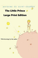 The Little Prince   Large Print Edition Book PDF