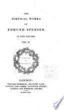 The Poetical Works Of Edmund Spenser In Five Volumes