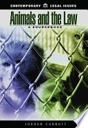 Animals and the Law