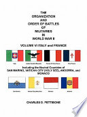The Organization and Order of Battle of Militaries in World War II