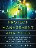 Project Management Analytics Pdf/ePub eBook