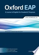 Oxford English Foracademic Purposes Upper Intermediate Student Book B2