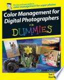 Color Management For Digital Photographers For Dummies