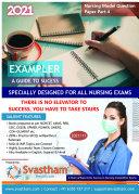 Pdf Nursing Model Question - Paper Part 4 - 2021 Telecharger