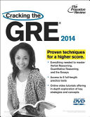 Cracking the GRE 2014 Book