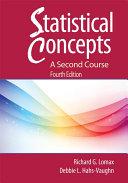 Statistical Concepts - A Second Course [Pdf/ePub] eBook