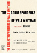 The Correspondence of Walt Whitman