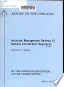Industrial Management Reviews of Defense
