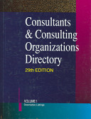 Consultants Consulting Organizations Directory 29 2v Set Book PDF