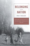 Belonging to the Nation [Pdf/ePub] eBook