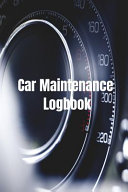 Car Maintenance Logbook