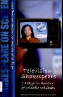 Shakespeare on screen   Television Shakespeare
