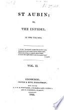 St  Aubin  or  The Infidel   A novel   Book